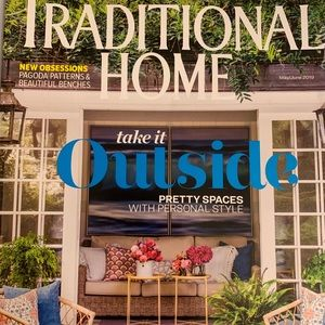 Traditional home magazine May/June 2019.